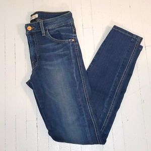 Guess super skinny mid rise jeans